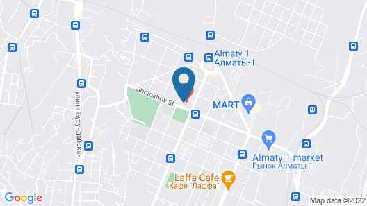 Royal Park Hotel Almaty Map