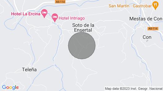 Apartamentos Rurales La Caviana for 2 people Map