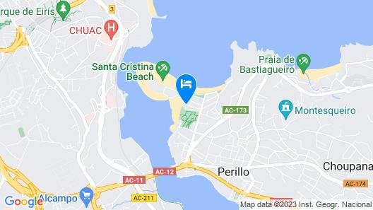 Alda Santa Cristina Map