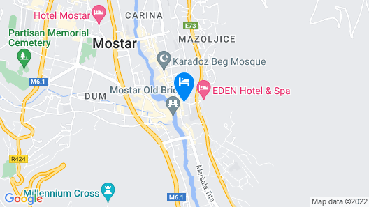 Design Hostel StarMo Map