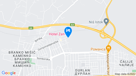 Hotel Zen Map