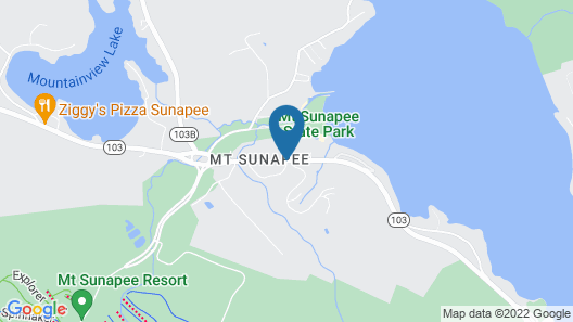 Sunapee Lake Lodge Map