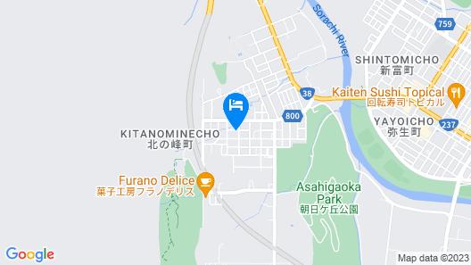 CHALET BURLAP FURANUI Map