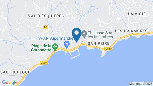 Pierre & Vacances Les Rivages des Issambres Map