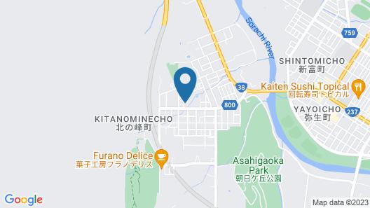 KASHIWA HOUSE FURANO Map