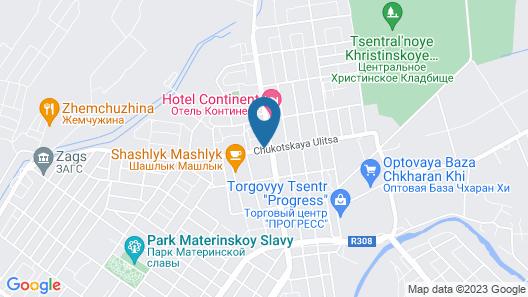 Hotel Zama Map