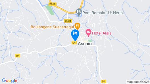 Village Club Le Saint Ignace Map