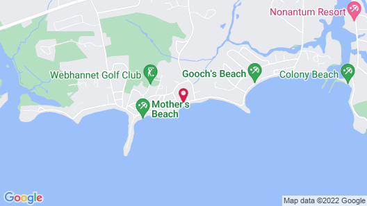 The Beach House Inn Map