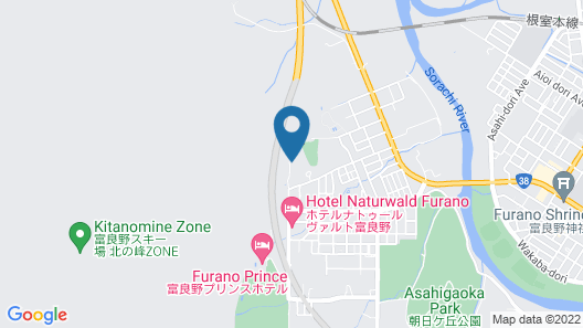 CHALET FUYURI Map
