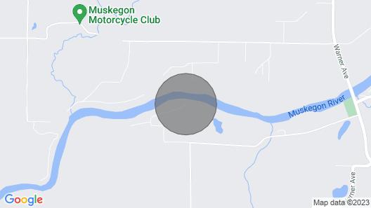 Muskegon River Cottage Map