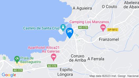Hotel Portocobo Map
