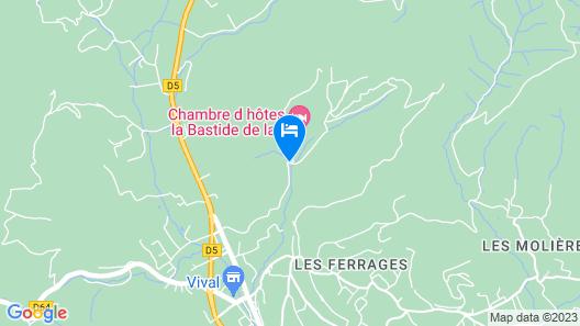 La Bastide de la Provence Verte Map