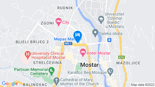 Hotel Mepas Map
