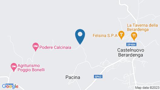 Residence Castello di Orgiale Map