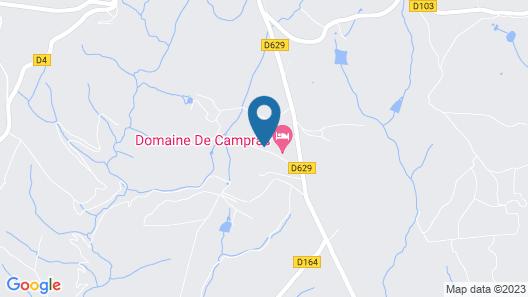 Domaine De Campras Map