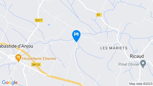 Château de Lavail Map