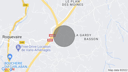 Bed and Breakfast in a 19th Century Bastide in a Large Park With Swimming Pool Map