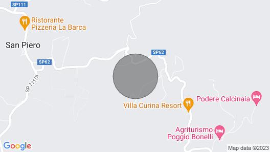 VILLA SANTA MARIA 14 sleeps, villa with private pool at exclusive use! Map