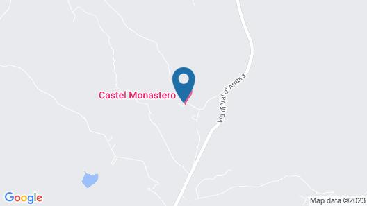 Castel Monastero Map