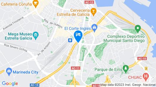 Hotel Avenida Map