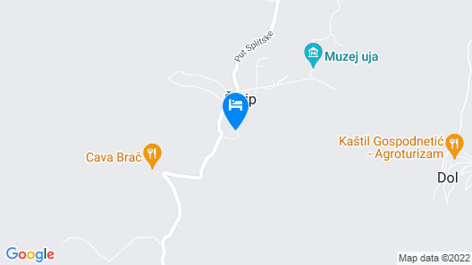 3 Bedroom Accommodation in Postira Map