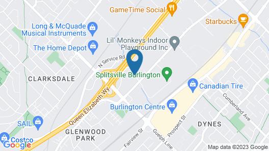 Holiday Inn Burlington Hotel & Conference Centre Map