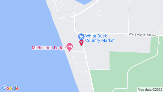 Michillinda Lodge Map