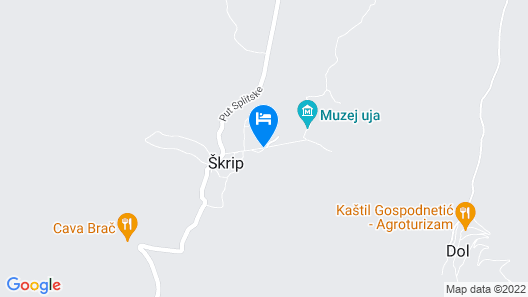 Villa Skula Map