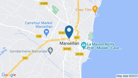 Demeure Terrisse- Résidence de tourisme Map