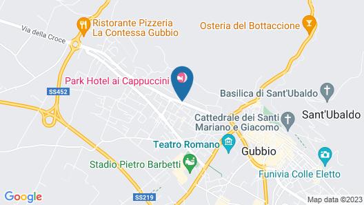 Park Hotel ai Cappuccini Map