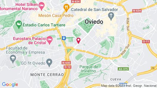 Ayre Hotel Ramiro I Map