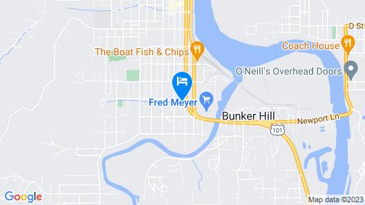 Southsider Motel Map