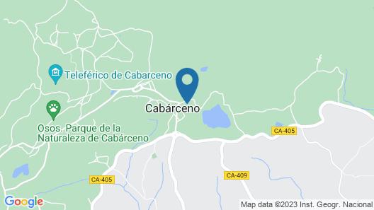 Posada Cabárceno Map