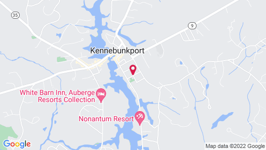 Kennebunkport Captains Collection Map