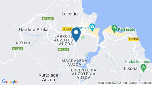 Hotel Zubieta Map