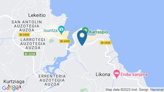 Hotel Villa Itsaso Map