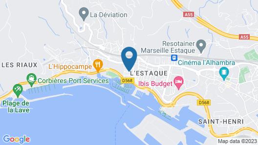 Chambre d'hôtes Villa Magenta Map