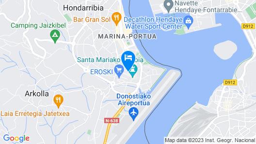 Ubilla - Basquenjoy Map