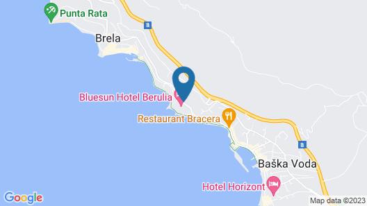 Bluesun Hotel Berulia Map