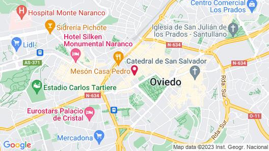 Eurostars Hotel De La Reconquista Map