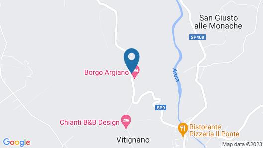 Borgo Argiano Map