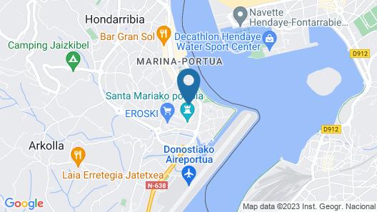 Parador de Hondarribia Map