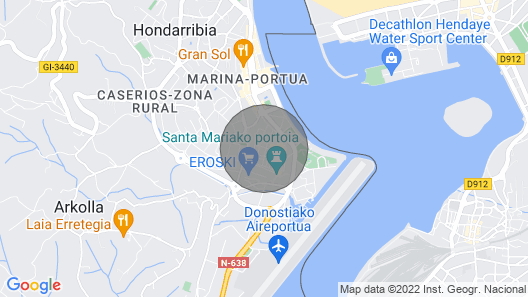 Kabuxa - Basque Stay Map