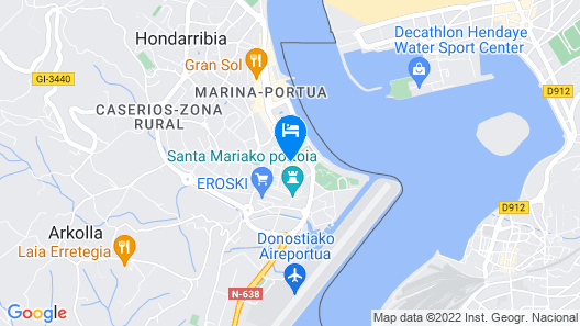 Iparralde By Smiling Rentals Map