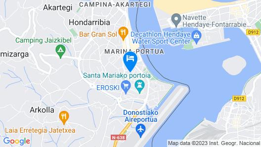 Piso en Casco Histórico - Basquenjoy Map