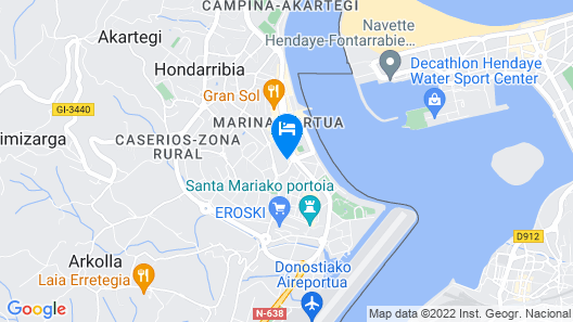 Ulia By Smiling Rentals Map