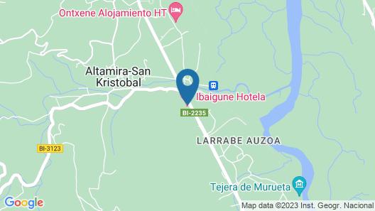 Hotel Ibaigune Map