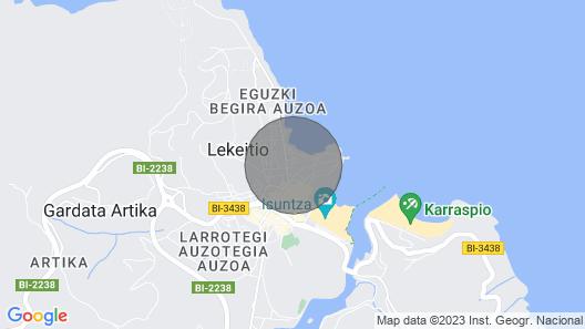 Antiguako - Baskeyrentals.com Map