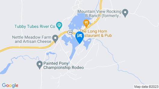 Original Adirondack log Cabin. Get a Flavor of Mountain Living. Lake Front Map