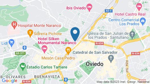 AC Hotel Oviedo Forum by Marriott Map